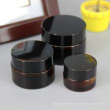 Низкие высокое качество минимальный заказ стеклянный Опарник для Сливк