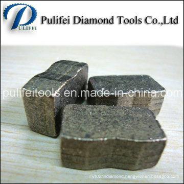 1000mm 2000mm 3000mm Saw Blade Diamond Cutting Segment for Granite