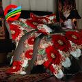 цветочный дизайн 110г саржа из микрофибры ткань для постельного лист