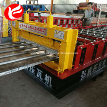 Hydraulic galvanized roofing sheet roof panel roll forming machine