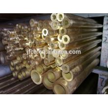 Extruded aluminium bronze tube for the machine parts C63000