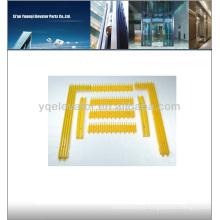 Schindler Escalera partes amarillo borde de seguridad Especiales Demarcación, escaleras mecánicas paso marco con amarillo dijo