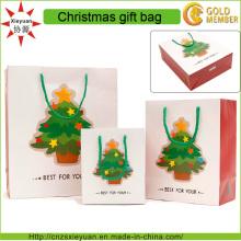 Sac de cadeau de Noël de haute qualité