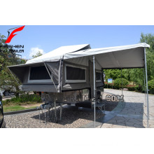 Forward hard floor camper trailer for sale