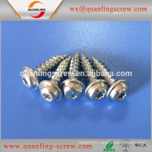Hot sell delicate multicolor pan flanged head self tapping screw for wood