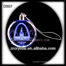 K9 Laser Crystal LED Ornament