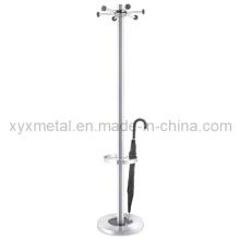 Suporte de chão com suporte para guarda-chuva Baralho em aço inoxidável