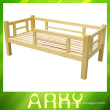 Hot Sale ! Kindergarten Wooden Single Children Bed