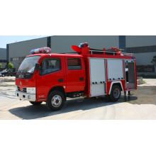Camión de bomberos de agua dongfeng duolika 6 ruedas