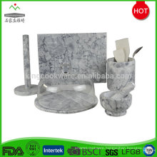 Slate serving dishes stone cheese board set
