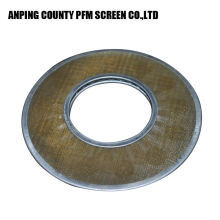 Stainless Steel Sinter Diamond Continuous Slotted Screen Filter Disc