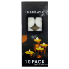 Gift Box of Tealight Candles for Christmas Decoration