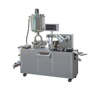 Blister packing machine for honey