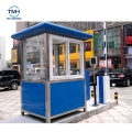 quick build sentry booth prefabricated sentry box house