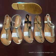 Dernières Cheap Mode Femmes Chaussures Flip Flop Sandales Plates (JH16317)