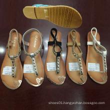 Latest Cheap Fashion Women Shoes Flip Flop Flat Sandals (JH16317)