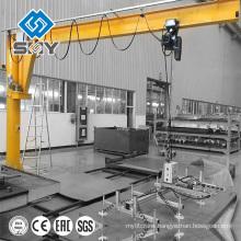 360 degree rotating pillar hoist jib crane