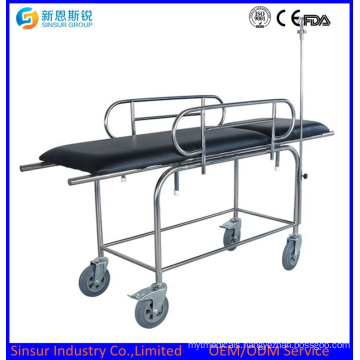 Medical Instrument Stainless Steel Multi-Function Hospital Transport Stretcher