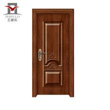 Neuer Stil High End umweltfreundliche Stahl Tür aus Holz