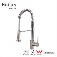 Haijun contemporáneo de 0,1 ~ 1.6MPa Cubierta montada en latón de cocina grifo del grifo del mezclador del fregadero
