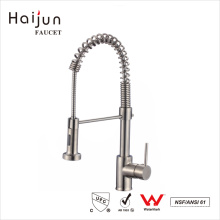 Haijun 2017 Import Manufacturer cUpc Single Handle Pull Down Kitchen Faucet