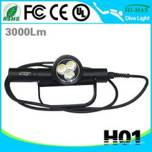Hi-max H01 slim in poland powerful diving torch led 10000 lumen