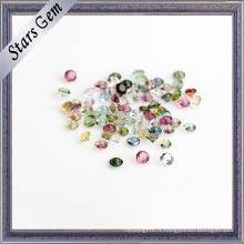 Tourmaline en pierre semi-précieuse naturelle pour bijoux de mode