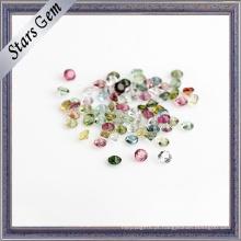 Turmalina natural da pedra semi preciosa para a jóia da forma