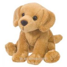 ICTI fábrica de aduana de peluche dorado retriever perro juguete