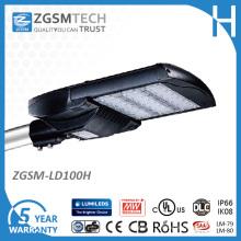 Le meilleur réverbère de la vente LED 100W avec la certification UL Dlc