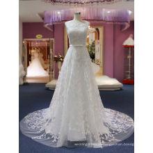 A Line Lace Beach Wedding Bridal Gowns