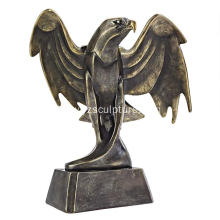 Life Size Bronze Eagle Sculpture For Sale