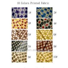 Telas africanas impresas Bazin Riche Boubou Damasco textil Shadda Jacquard Guinea Brocade 10 patrones
