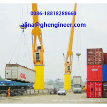 Port Grúa para levantar contenedores Yard Crane Container Crane