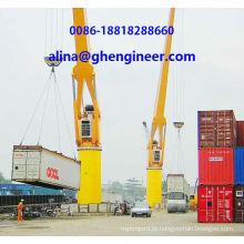 Port Grua para elevação de contentores Yard Crane Container Crane