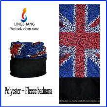 LINGSHANG дешевый изготовленный на заказ бандана печать бандана шарф флис многофункциональный бандана