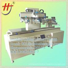 Equipamento de impressão em tela de correr-mesa com sistema de secagem e descarregamento IR