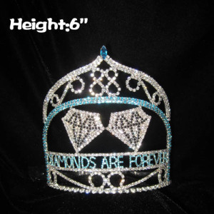Crystal Diamonds Pageant Queen Crowns