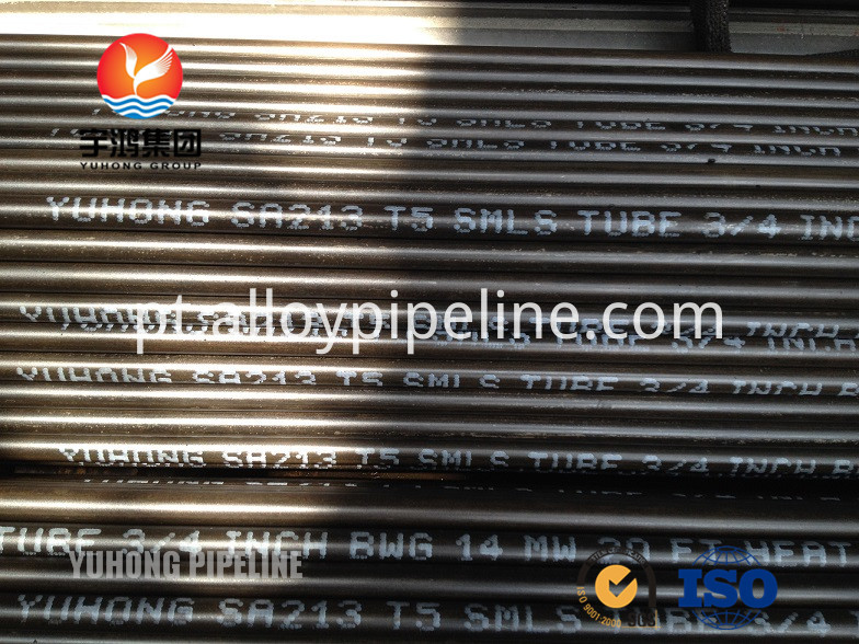 Alloy Seamless Tube ASTM A213 T5