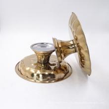 Suporte de fruta do bolo de aço inoxidável da placa do carregador da decoração do casamento de Rosa de ouro / plste do carregador