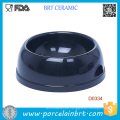 Cheap Blank Round Shape Pet Bowl Ceramic Dog Bowl