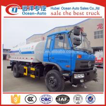 Nuevo camión de agua de dongfeng 2016, camión cisterna de agua 10cbm con más barato