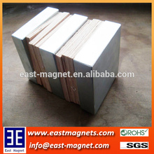 big thicker block neodymium nickel coated magnet for sale/ningbo east magnet factory strong big block magnet for sale