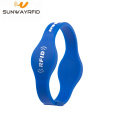 Smart LF TK4100 UHF H3 RFID Silicone Bracelets