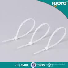 Atadura de cables de nylon del lazo de cable plástico para el auto