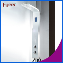 Fyeer Temperature Sensor Stainless Steel Shower Panel