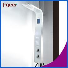 Capteur de température Fyeer Panneau de douche en acier inoxydable
