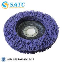 Purple flap disc abrasive disc for metal polishing
