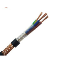 Braided shielded control cable