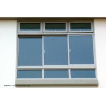 Kundenspezifische Triple Tracks Versteckte Rollen Aluminium Schiebetüren und Fenster